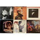 DAVID BOWIE/ROXY MUSIC & RELATED - LPs
