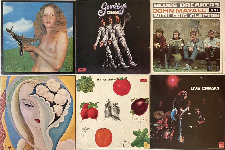 CREAM/ CLAPTON & RELATED - LPs