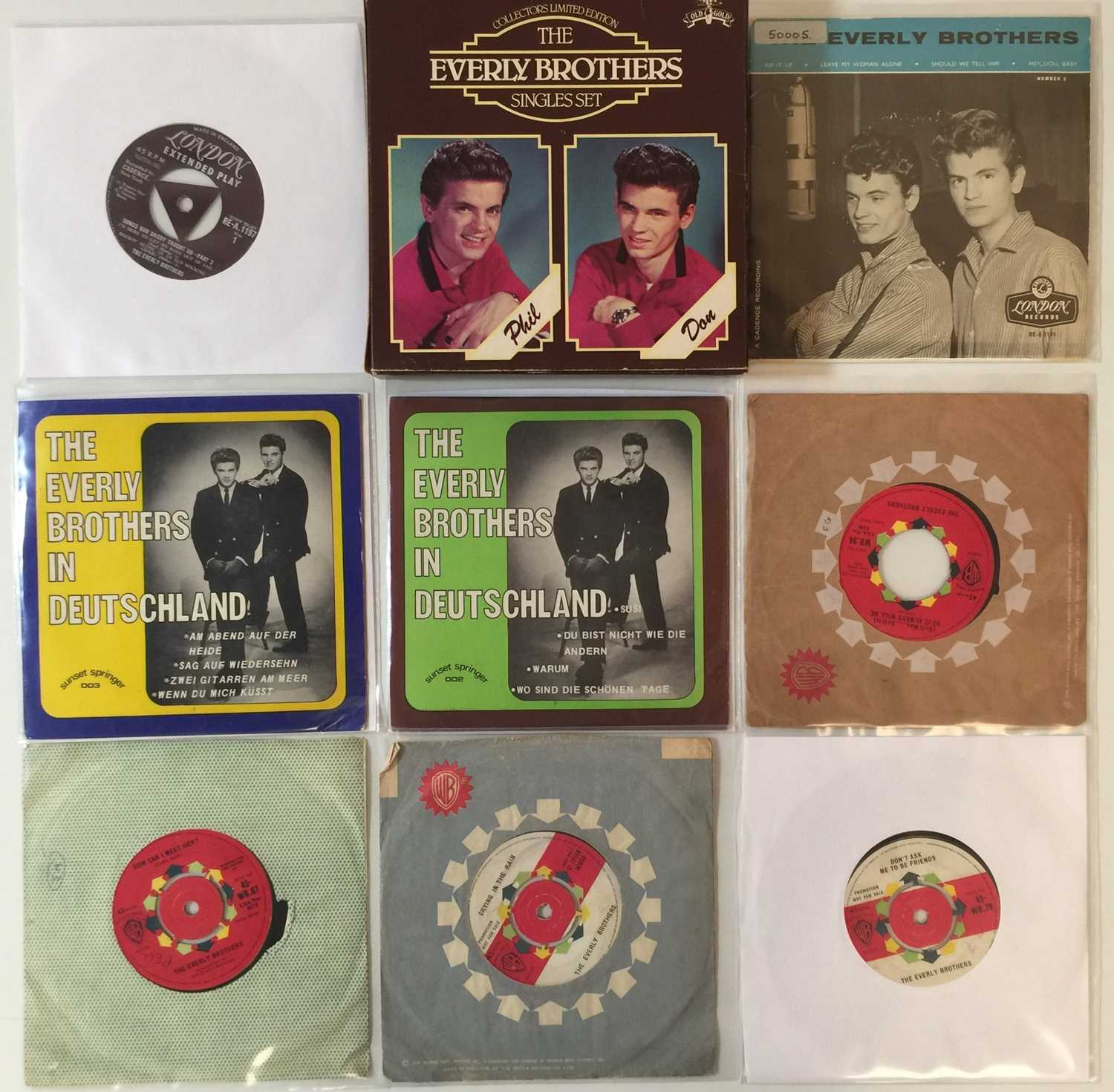 """THE EVERLY BROTHERS - LPs/ 7"""" (INC SIGNED LPs) - Image 2 of 4"""
