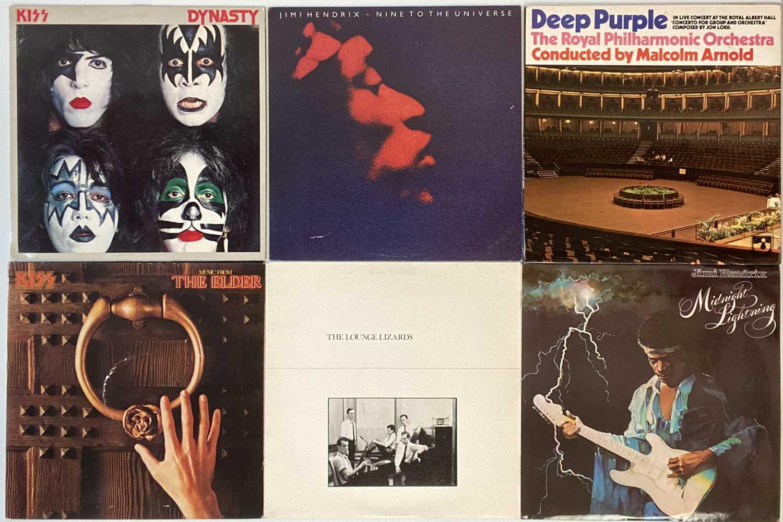 CLASSIC ROCK/HEAVY/PROG/PSYCH-ROCK LPs (WITH 'MILD' WARPING) - Image 4 of 6