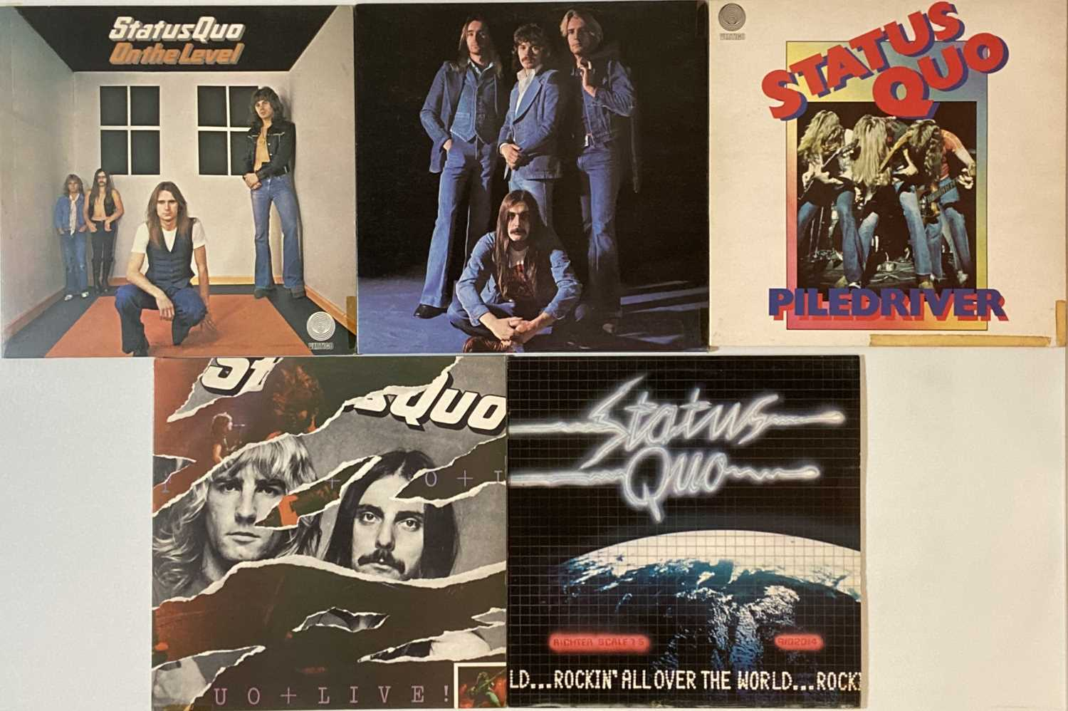 SLADE/ STATUS QUO - LP COLLECTION - Image 4 of 4