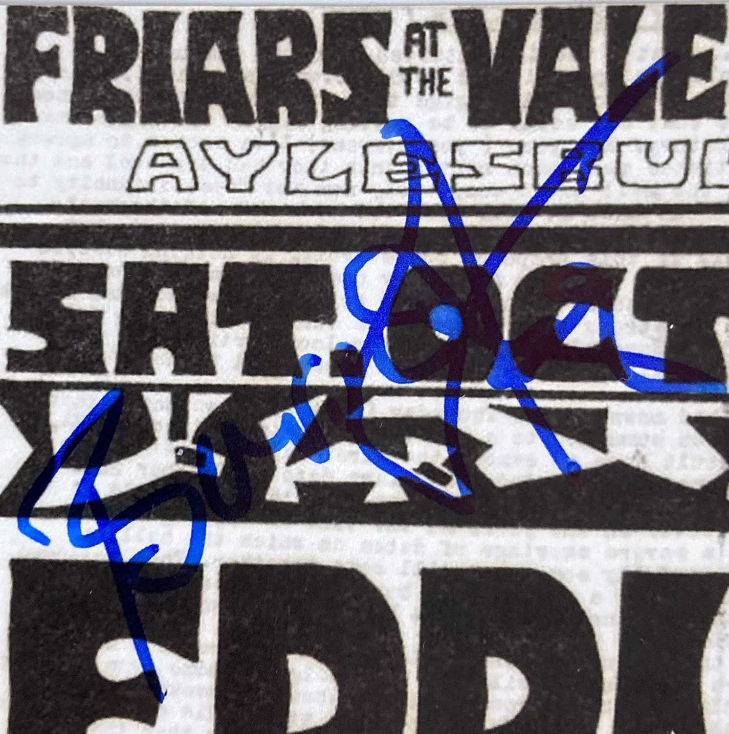 PUNK / NEW WAVE SIGNED ITEMS. - Image 5 of 9