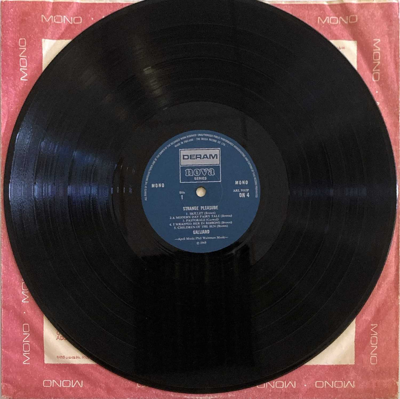 GALLIARD - STRANGE PLEASURE LP (ORIGINAL UK DERAM NOVA SERIES MONO PRESSING - DN 4) - Image 3 of 3