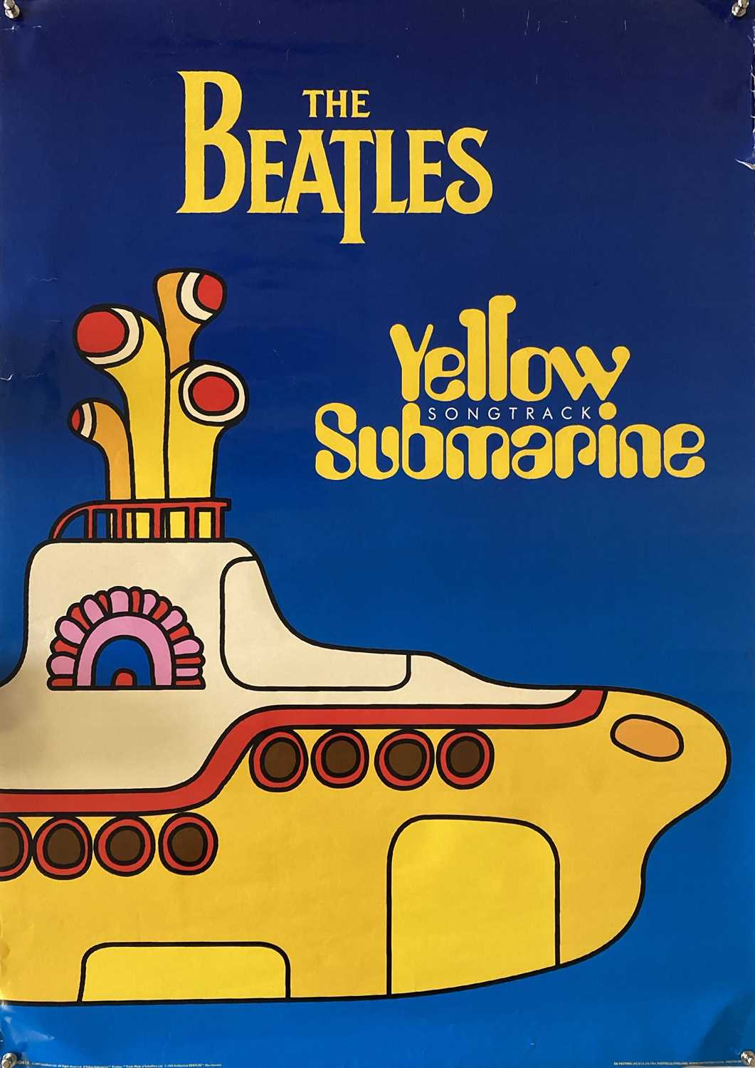 BEATLES / ROLLING STONES POSTERS. - Image 7 of 8