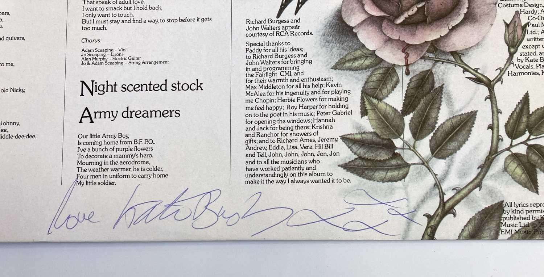 KATE BUSH SIGNED LP. - Image 4 of 6