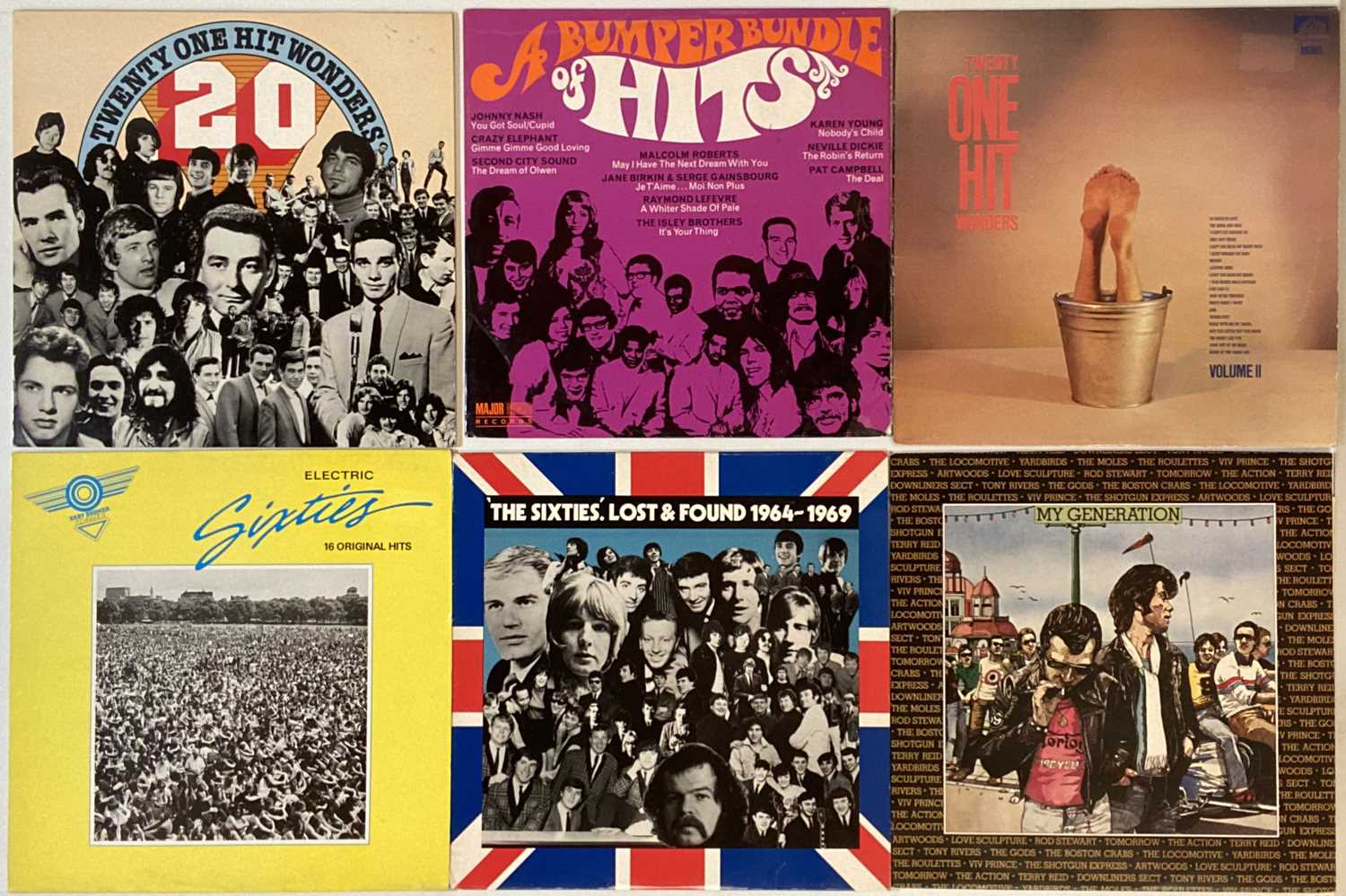 ROCK/ POP/ ROCK AND ROLL - COMPILATION - LPs - Image 2 of 5