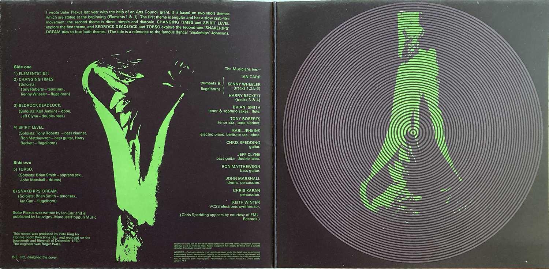 IAN CARR WITH NUCLEUS - SOLAR PLEXUS LP (ORIGINAL UK VERTIGO SWIRL PRESSING - 6360 039) - Image 2 of 5