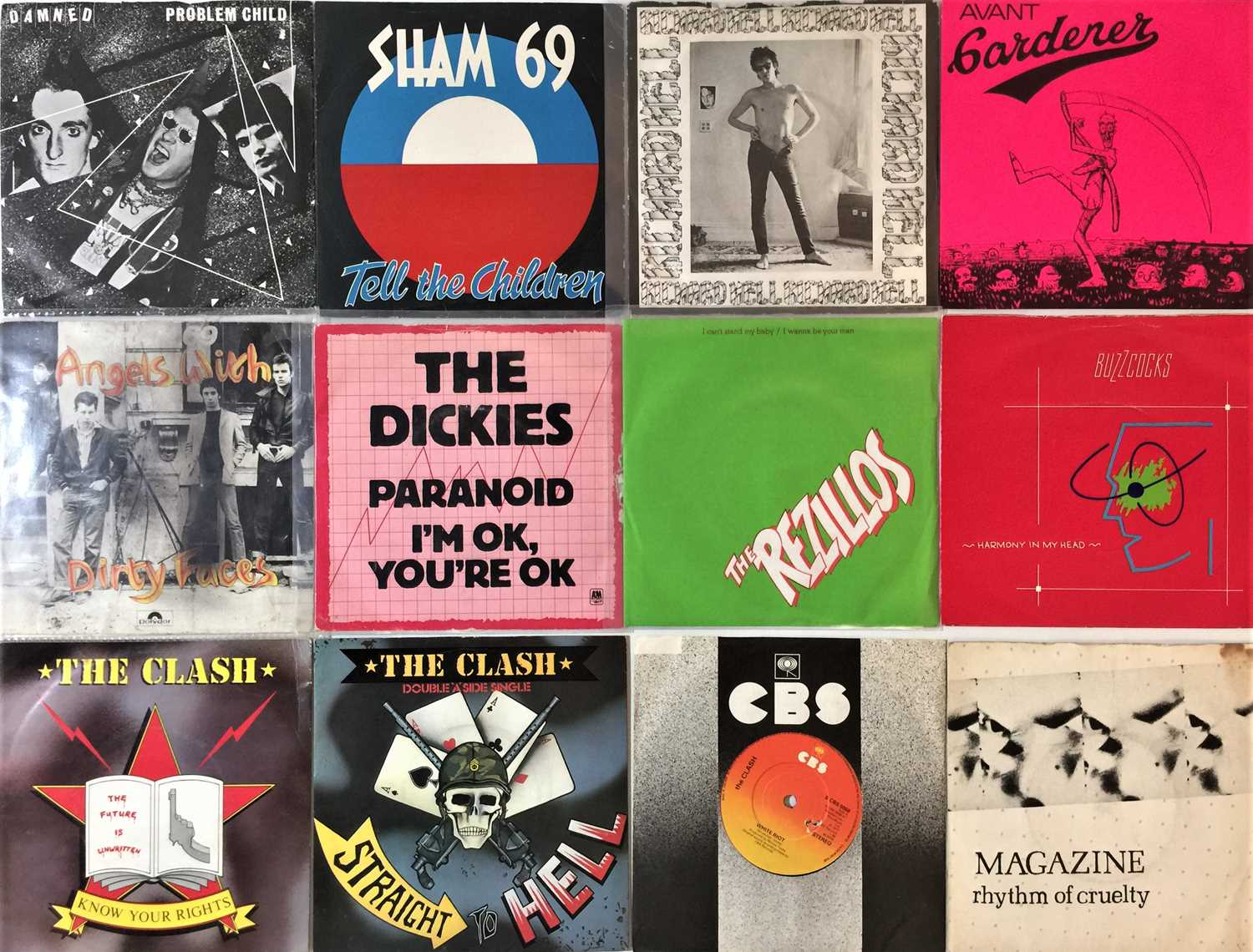 """CLASSIC PUNK & NEW WAVE - 7"""" COLLECTION - Image 2 of 4"""
