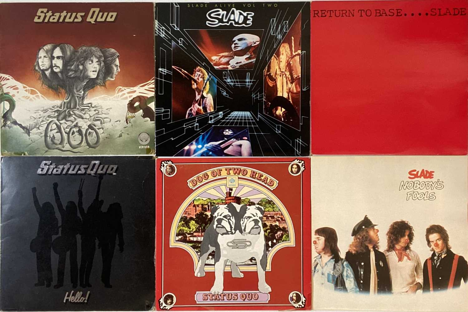 SLADE/ STATUS QUO - LP COLLECTION - Image 3 of 4
