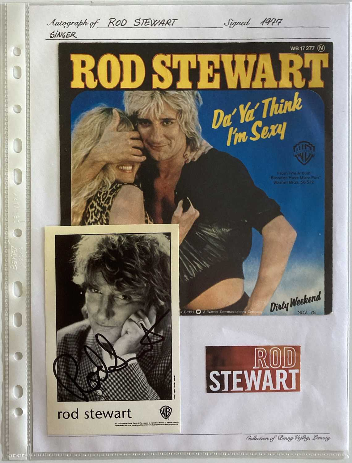 ROCK AND POP STARS SIGNED - MALE STARS. - Image 3 of 3