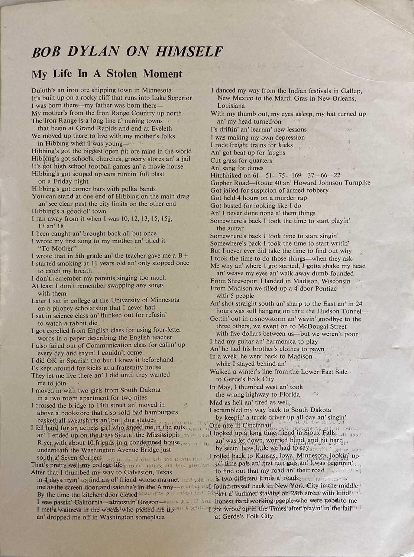 CONCERT PROGRAMMES TO INC BOB DYLAN 1964 FESTIVAL HALL. - Image 7 of 8