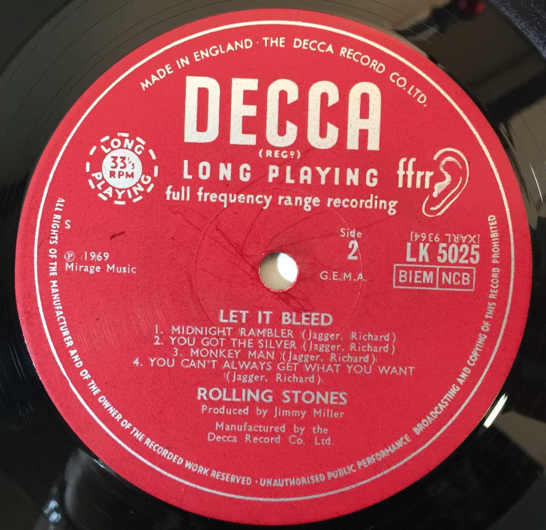 THE ROLLING STONES - LET IT BLEED LP (COMPLETE ORIGINAL UK MONO COPY - LK 5025). - Image 5 of 6