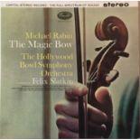 MICHAEL RABIN - THE MAGIC BOW LP (UK STEREO - SP 8510)