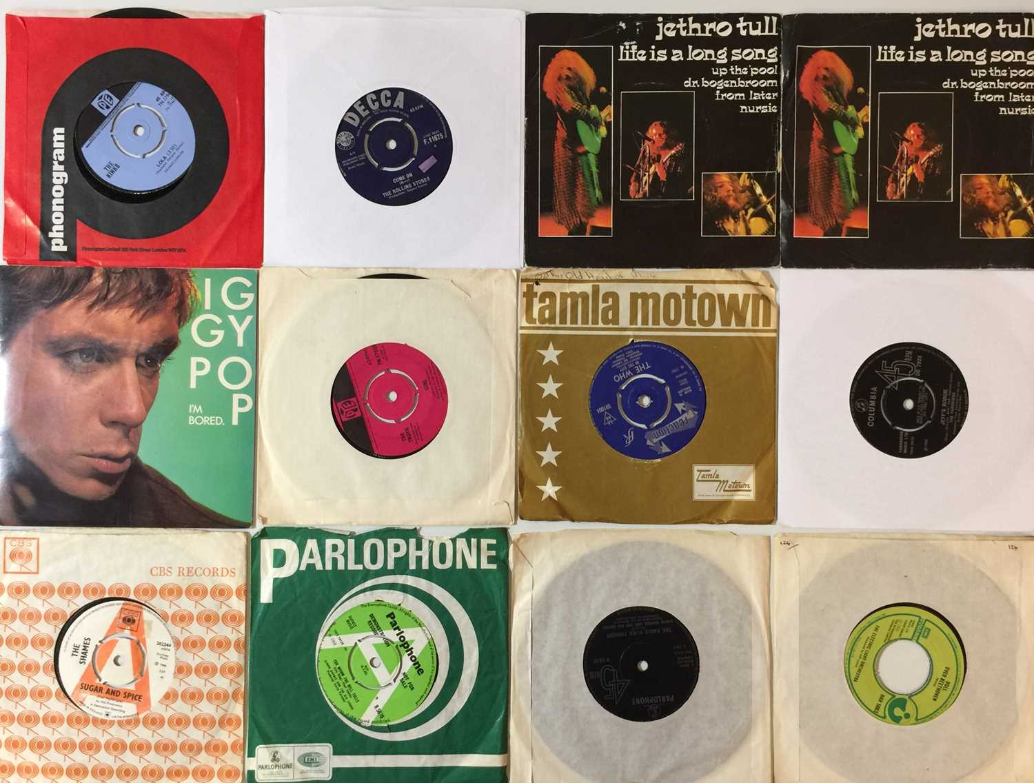"""CLASSIC ROCK/ PROG/ POP - 7"""" COLLECTION - Image 2 of 3"""