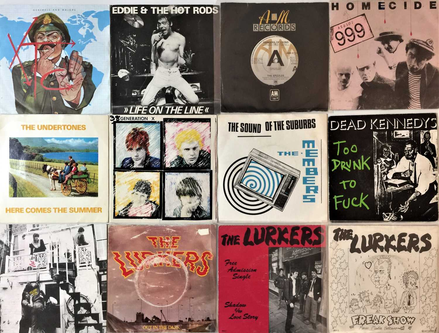 """CLASSIC PUNK & NEW WAVE - 7"""" COLLECTION - Image 3 of 4"""