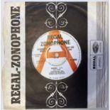 "TYRANNOSAURUS REX - DEBORAH 7"" (ORIGINAL UK PROMO - REGAL ZONOPHONE RZ 3008)"