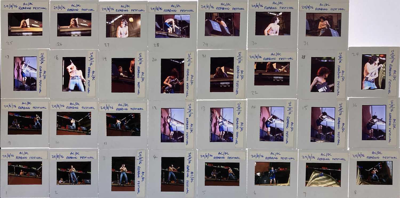 AC/DC PHOTO TRANSPARENCIES.