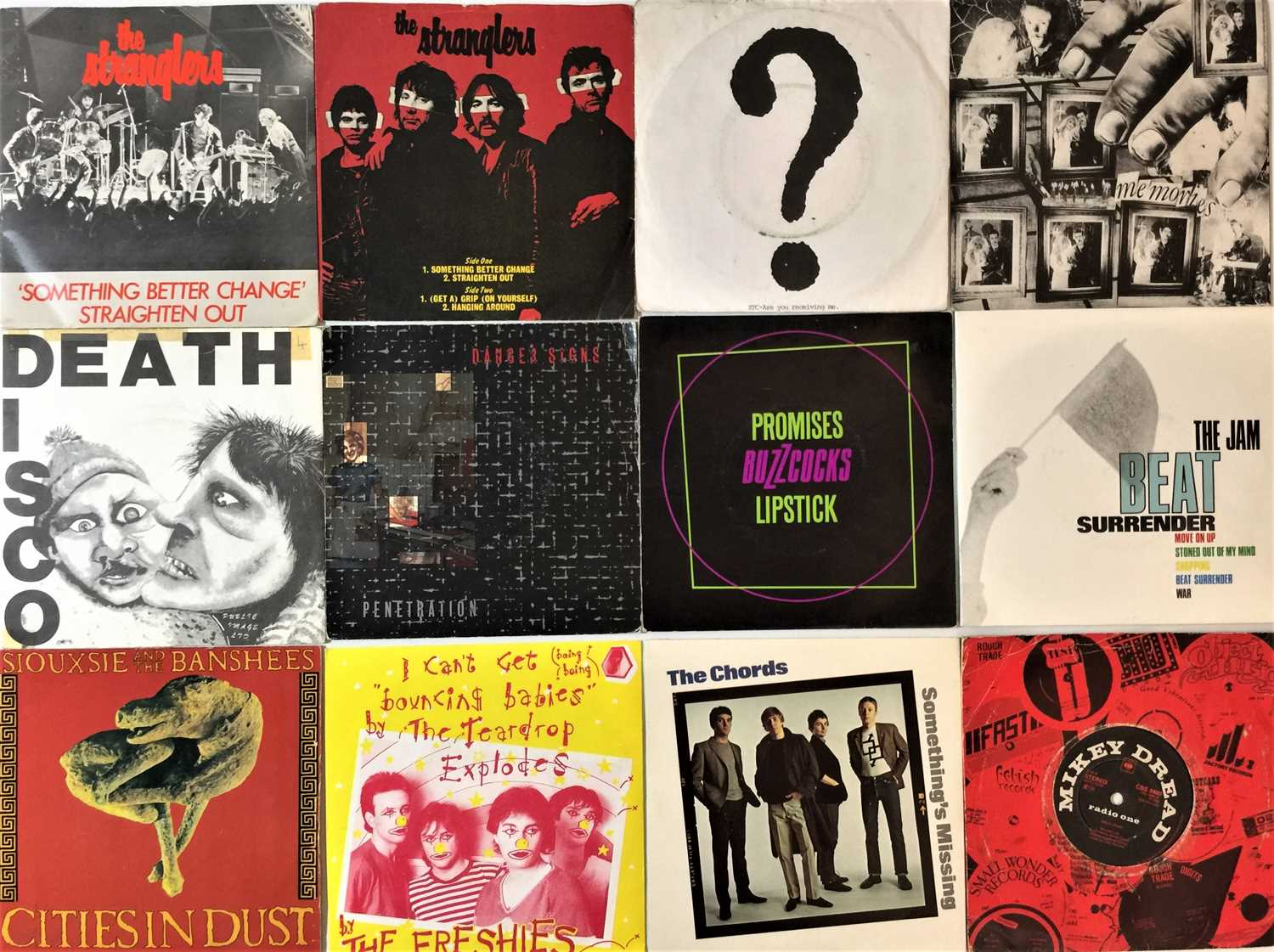 """CLASSIC PUNK & NEW WAVE - 7"""" COLLECTION - Image 4 of 4"""