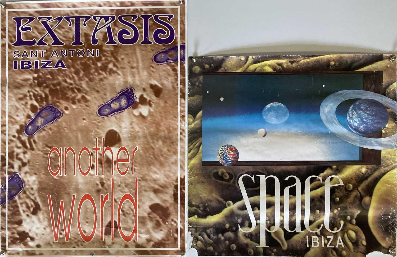 CIRCA 1990S IBIZA POSTERS - INC SPACE / PACHA. - Image 2 of 2