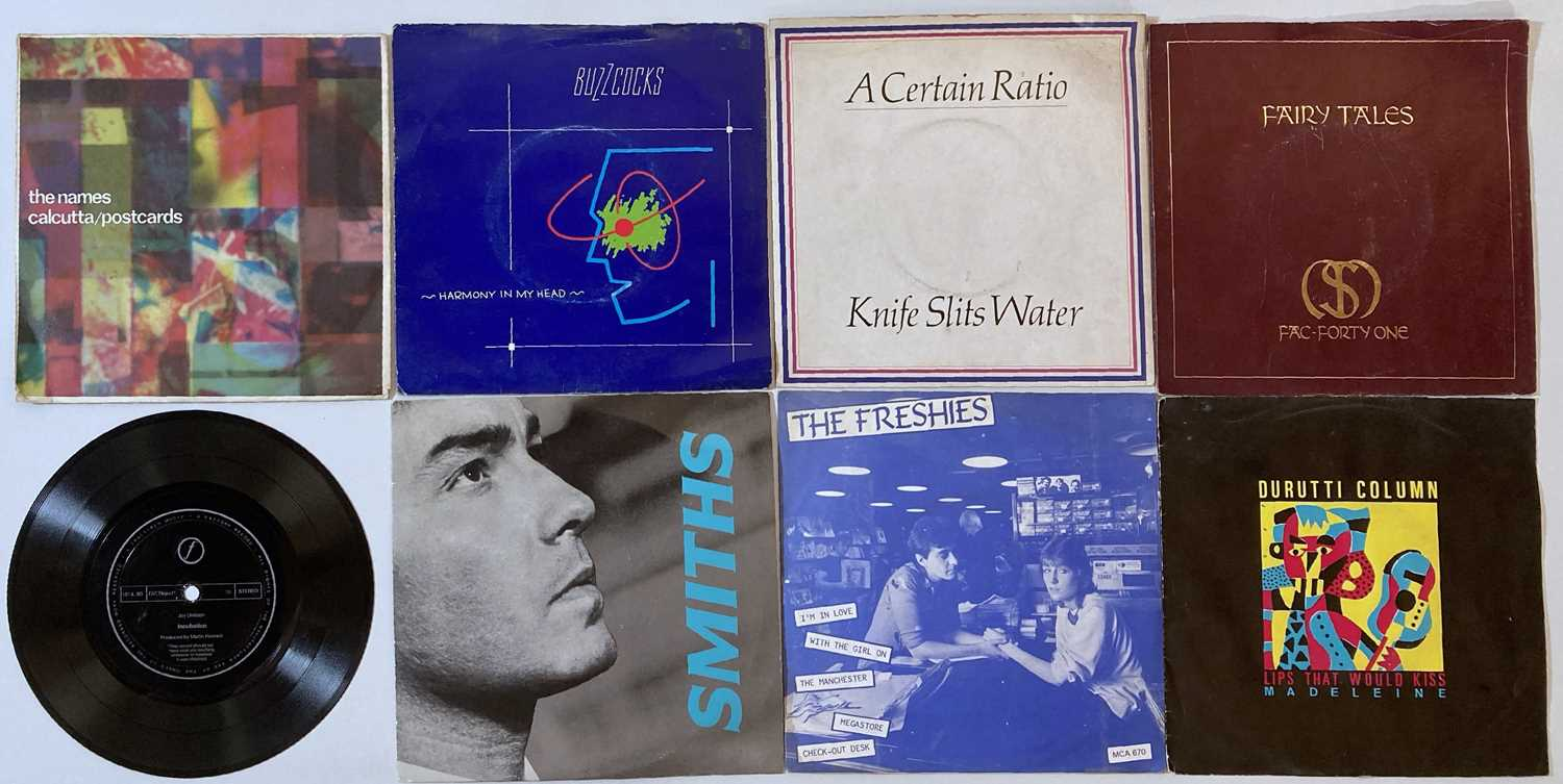 """MANCHESTER ARTISTS - 7"""" PACK (JOY DIVISION/ SMITHS ETC) - Image 2 of 2"""