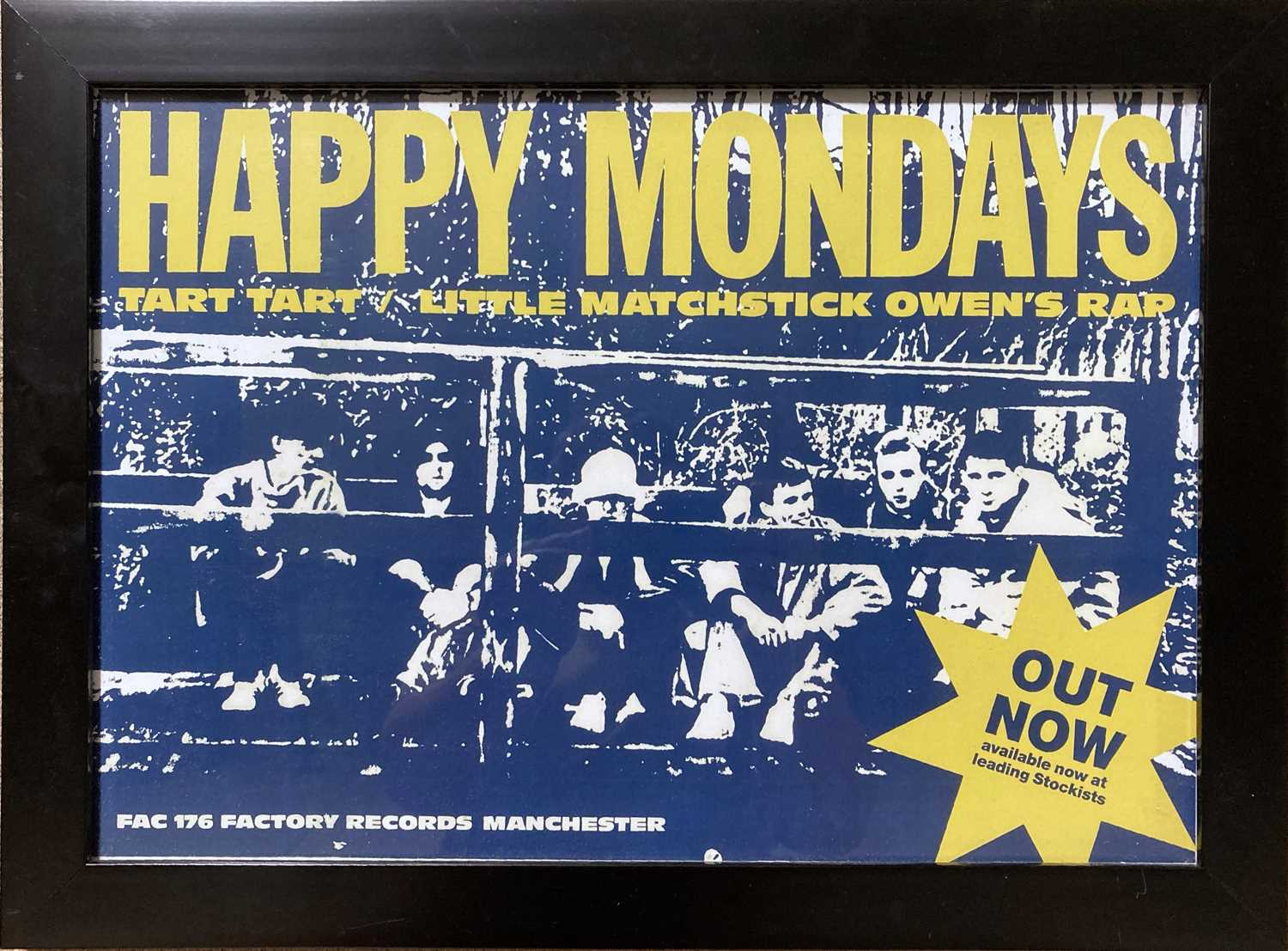 STONE ROSES / BLACK GRAPE POSTERS. - Image 3 of 5