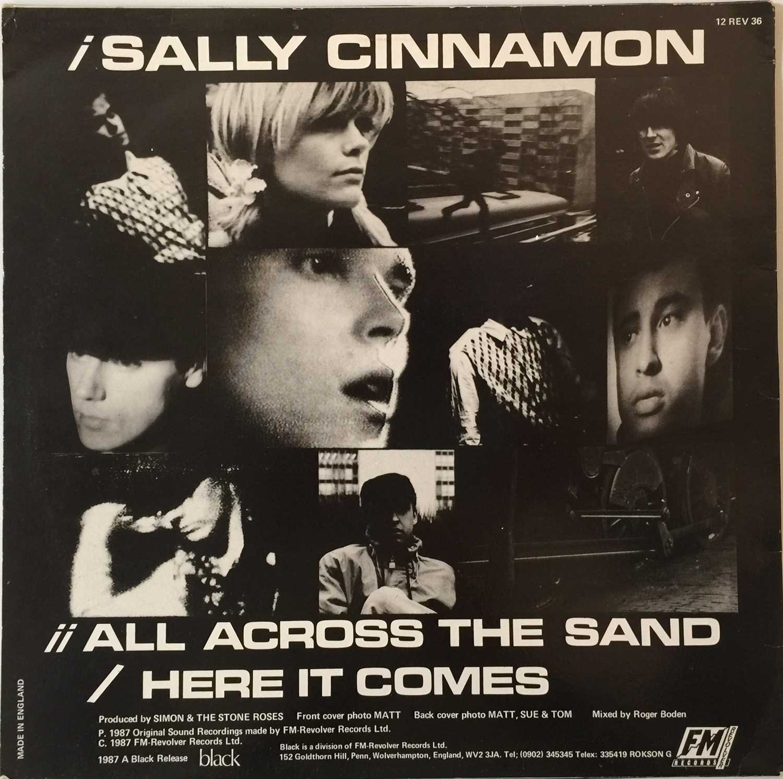 "THE STONE ROSES - SALLY CINNAMON 12"" (ORIGINAL UK PRESSING - 12 REV 36 'NO BARCODE') - Image 3 of 5"