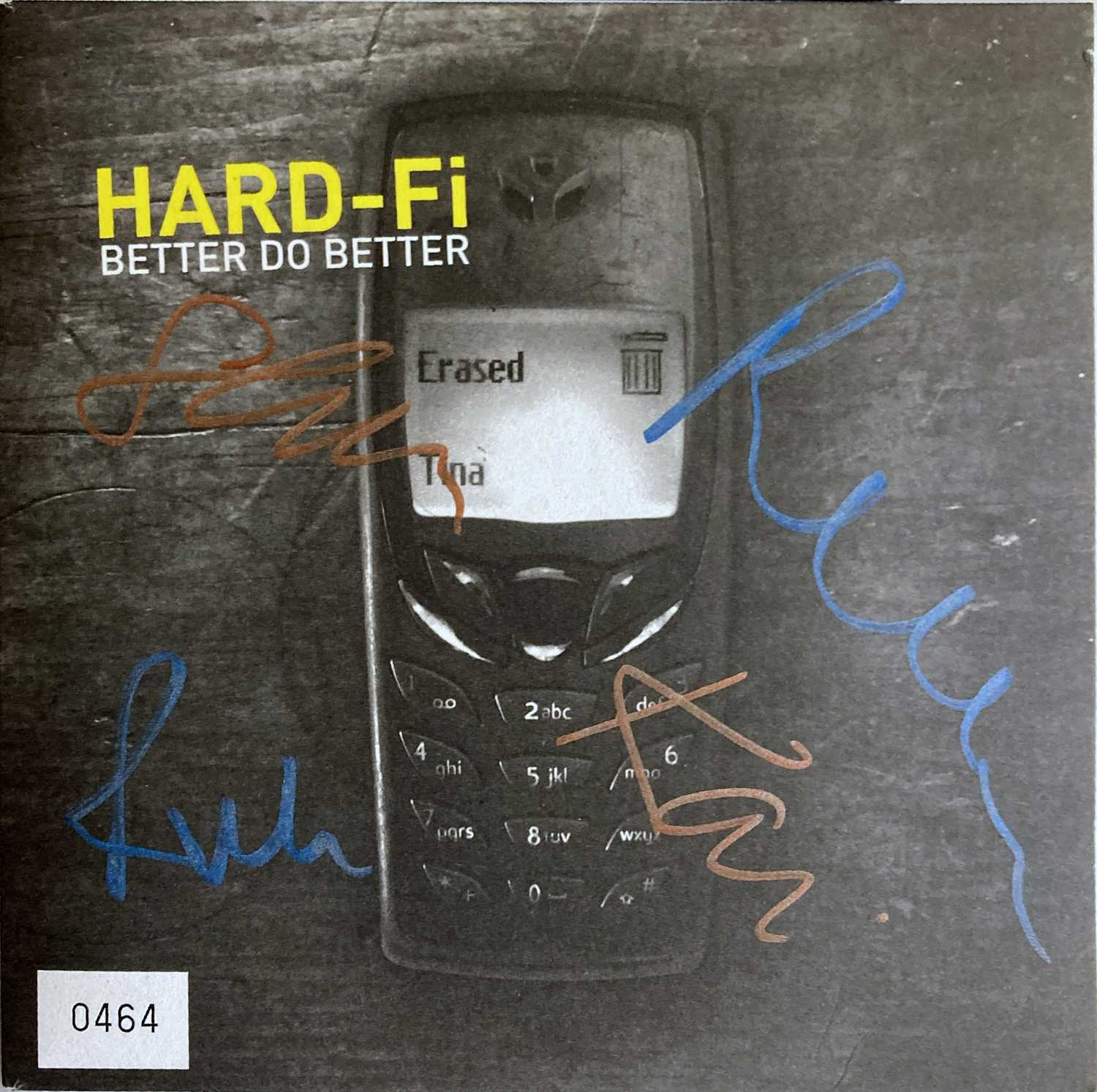 INDIE ARTISTS SIGNED ITEMS - HARD FI. - Image 6 of 11
