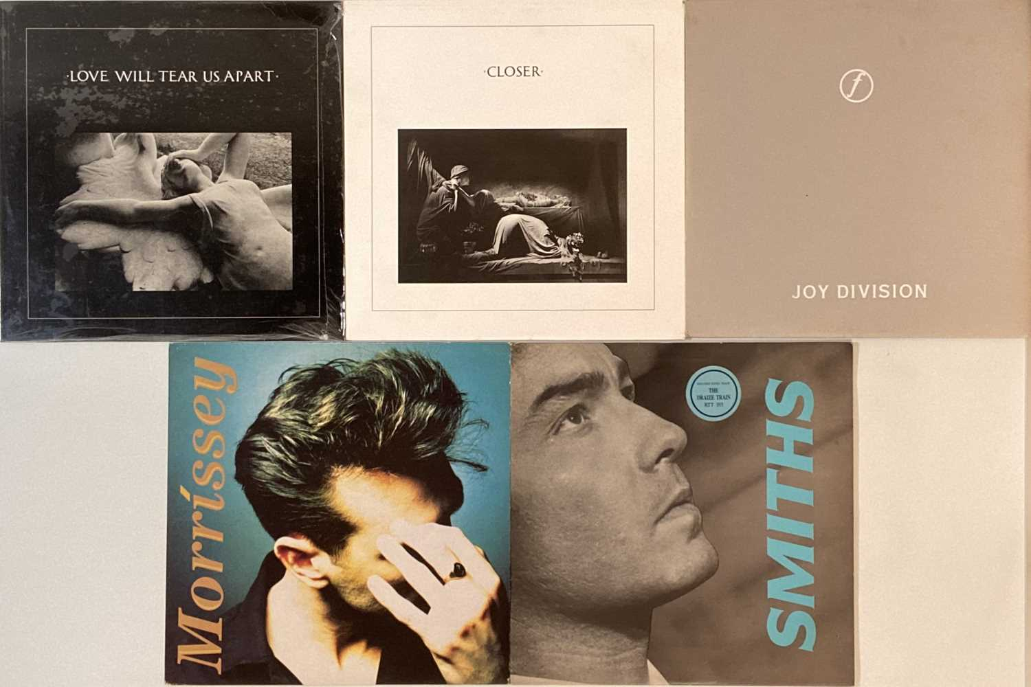 """JOY DIVISION/SMITHS & RELATED - LPs/12"""""""