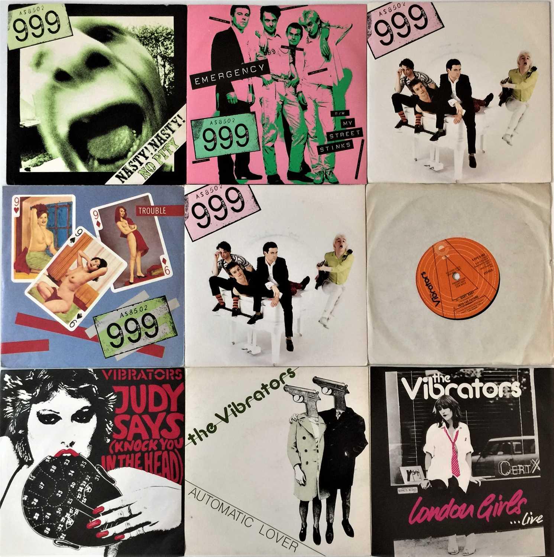 "999/ THE VIBRATORS - 7"" RARITIES"