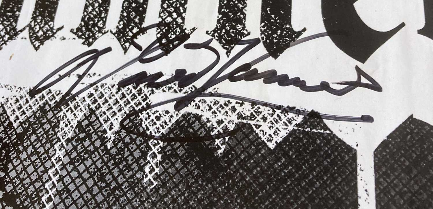 SIGNED PUNK / POST PUNK POSTERS. - Image 5 of 7