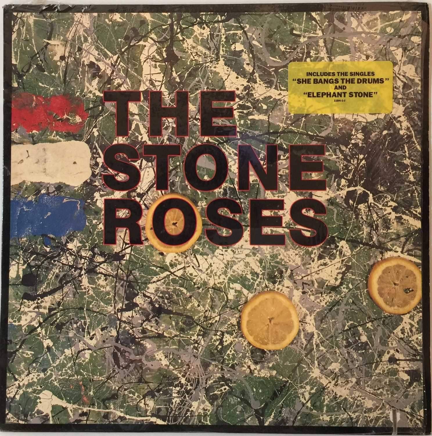 THE STONE ROSES - THE STONE ROSES LP (COMPLETE OG US COPY WITH PRESS RELEASE - SILVERTONE 1184-1-J) - Image 2 of 6