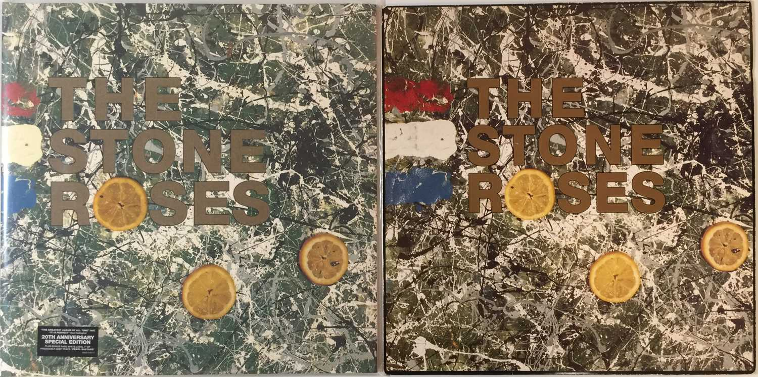 THE STONE ROSES - THE STONE ROSES LPs (ORIGINAL & LIMITED EDITION UK COPIES)