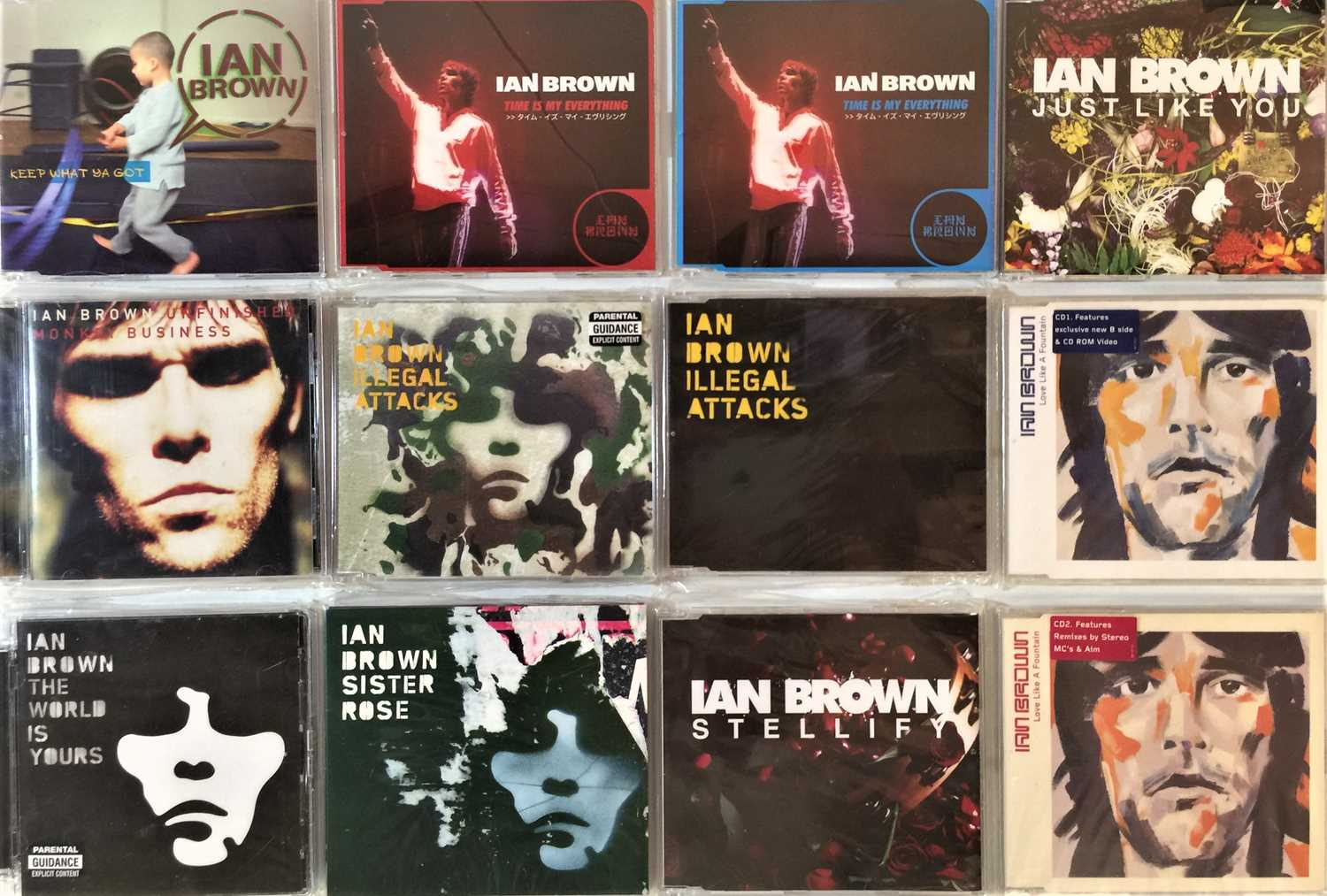 IAN BROWN & RELATED - CD COLLECTION - Image 2 of 2