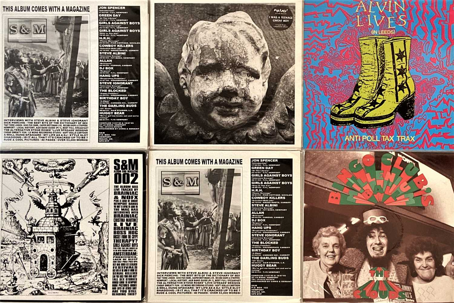 """INDIE/ ALT/ EXPERIMENTAL/ MODERN PSYCH - LPs/ 12"""" - Image 4 of 5"""
