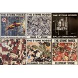"""THE STONE ROSES - 12"""" SINGLES (ORIGINAL/EARLY UK COPIES WITH PRINTS INCLUDED)"""