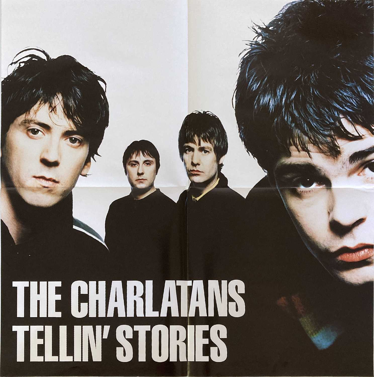 THE CHARLATANS - TELLIN' STORIES POSTERS.