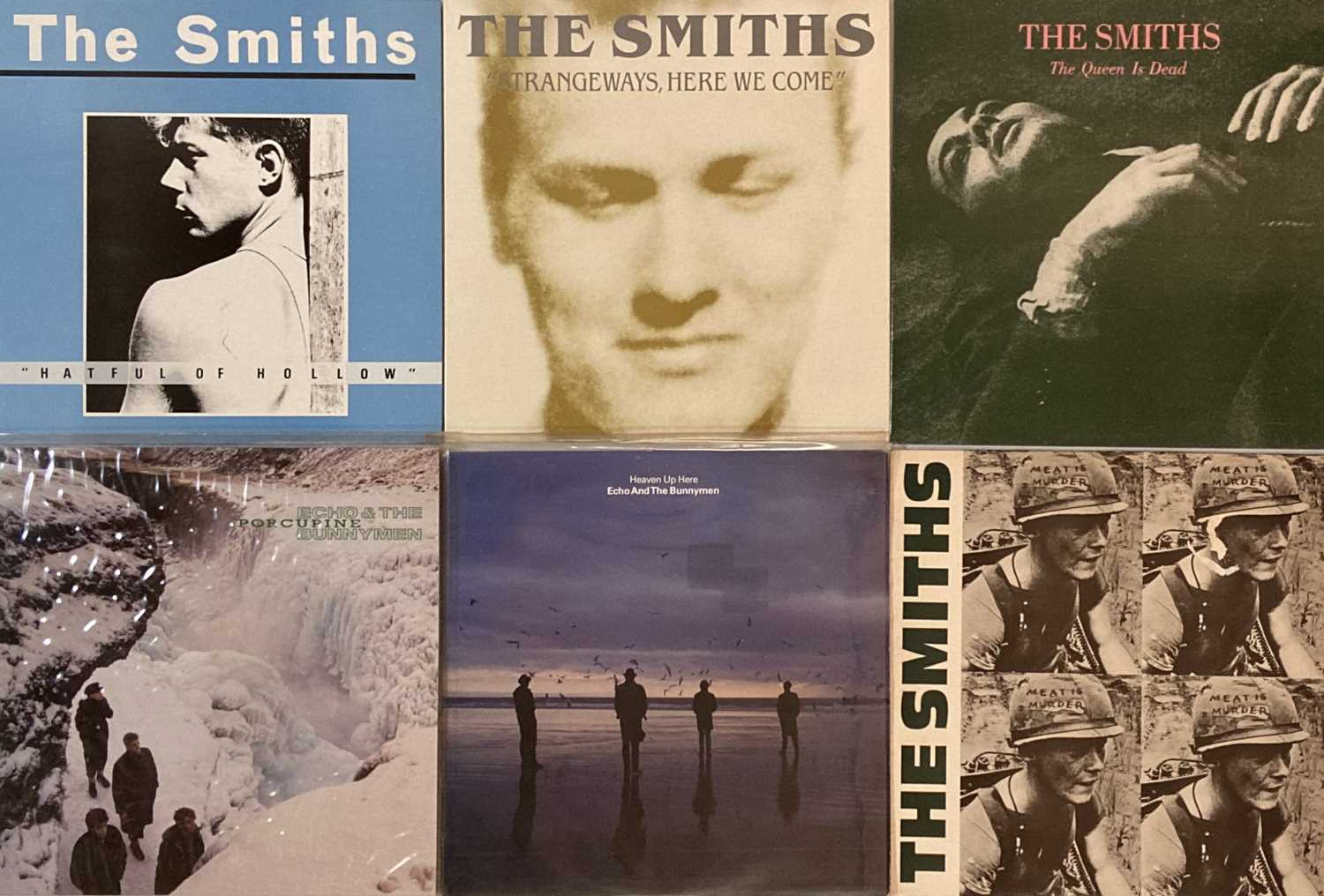THE SMITHS/ ECHO AND THE BUNNYMEN - LP PACK