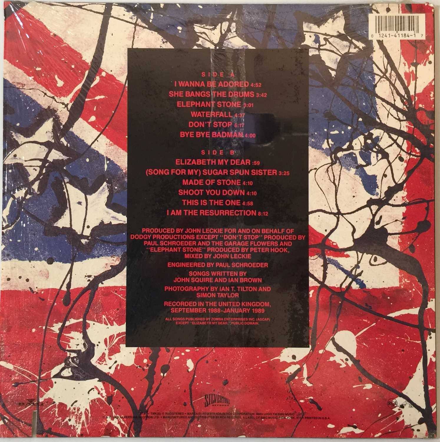 THE STONE ROSES - THE STONE ROSES LP (COMPLETE OG US COPY WITH PRESS RELEASE - SILVERTONE 1184-1-J) - Image 3 of 6