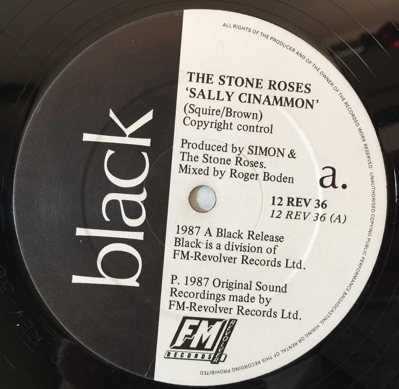 "THE STONE ROSES - SALLY CINNAMON 12"" (ORIGINAL UK PRESSING - 12 REV 36 'NO BARCODE') - Image 4 of 5"