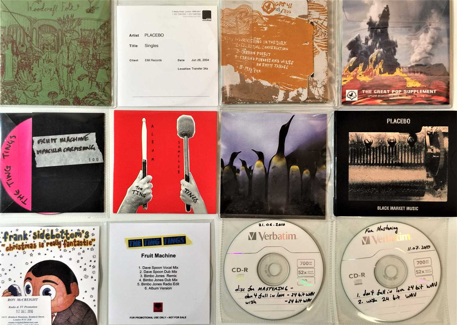 INDIE/ALT/PSYCH/ELECTRONIC - CD COLLECTION (WITH PROMOS/MASTERING COPIES). - Image 2 of 5