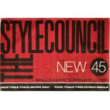 PAUL WELLER/STYLE COUNCIL POSTERS.
