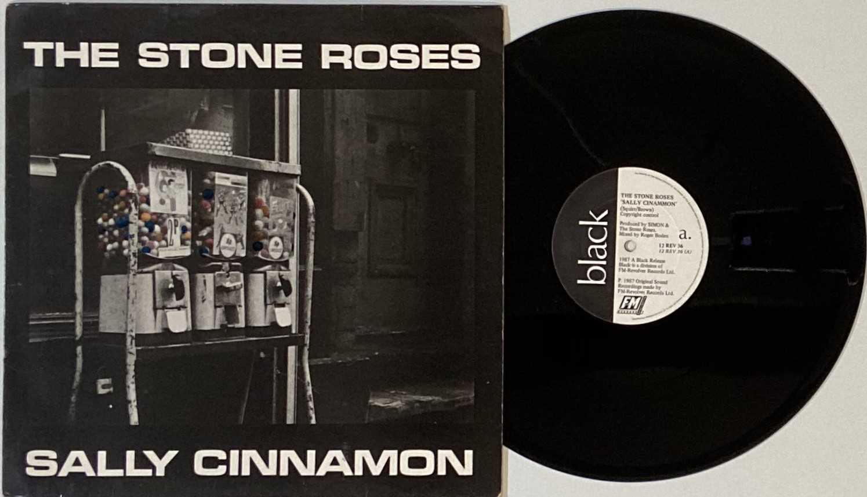 "THE STONE ROSES - SALLY CINNAMON 12"" (ORIGINAL UK PRESSING - 12 REV 36 'NO BARCODE')"