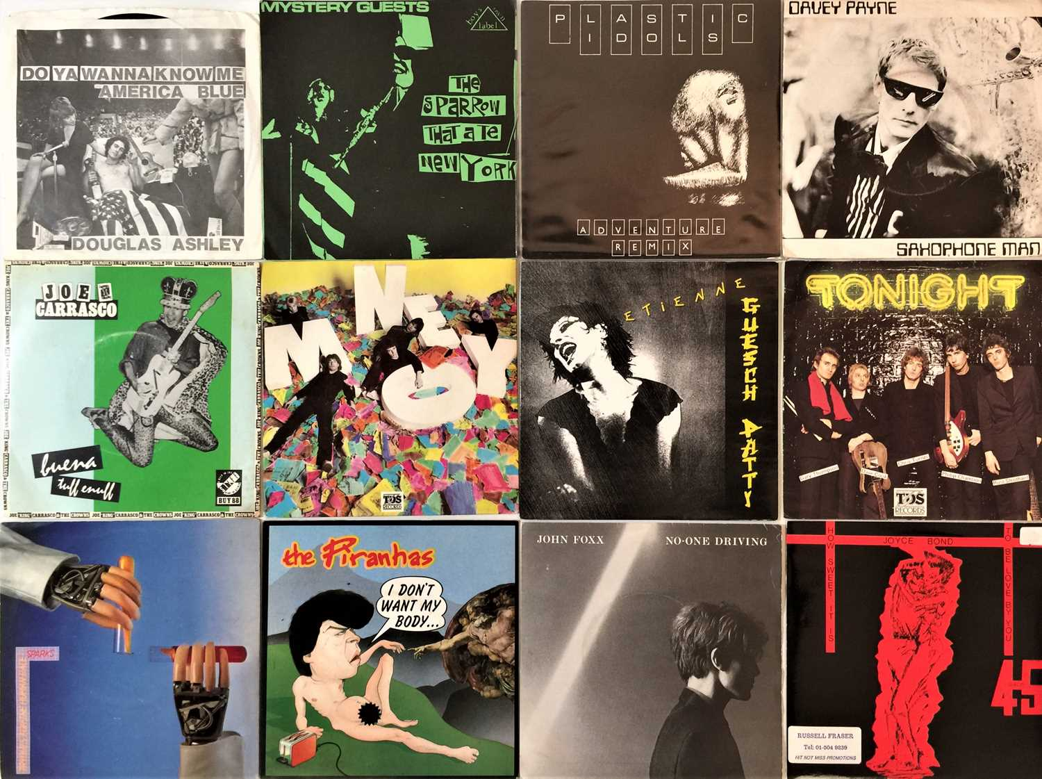 """PUNK/ WAVE - 7"""" COLLECTION"""