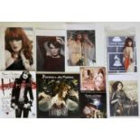 FLORENCE AND THE MACHINE SIGNED ITEMS.