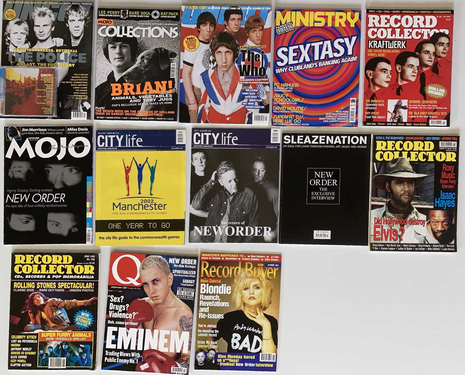 FACTORY/MANCHESTER ARTISTS - MUSIC MAGS - Image 2 of 2