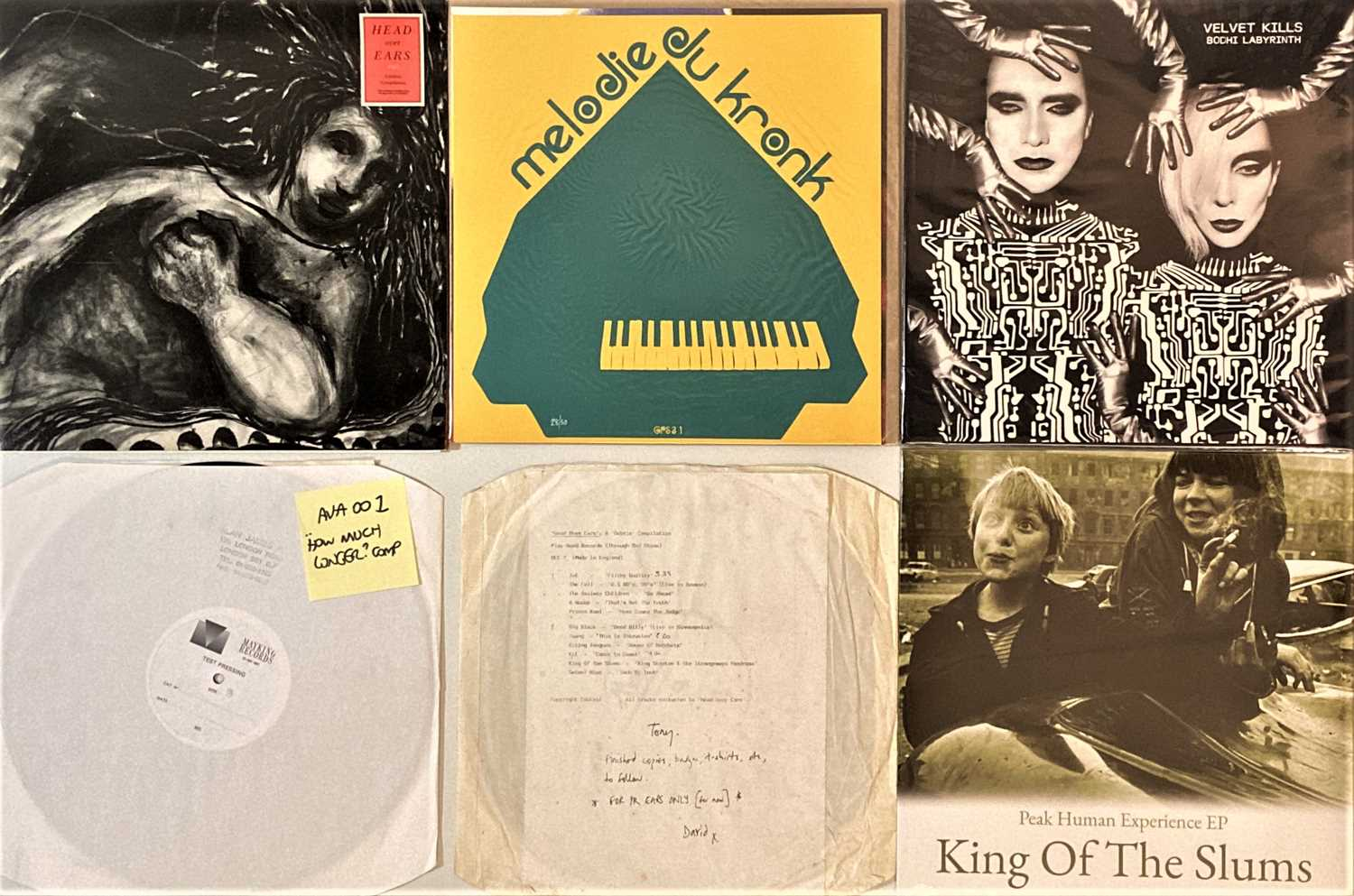 """INDIE/ ALT/ EXPERIMENTAL/ MODERN PSYCH - LPs/ 12"""" - Image 3 of 5"""
