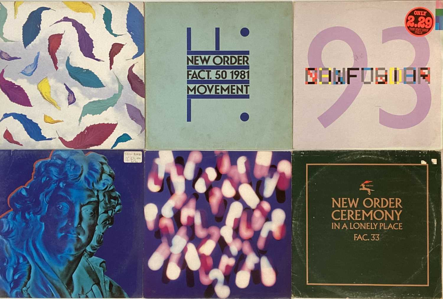 """NEW ORDER - LPs/ 12"""" - Image 3 of 5"""