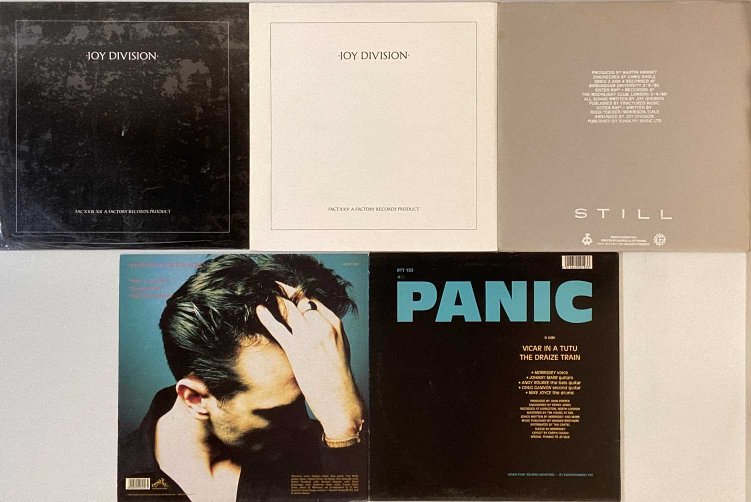 """JOY DIVISION/SMITHS & RELATED - LPs/12"""" - Image 2 of 2"""