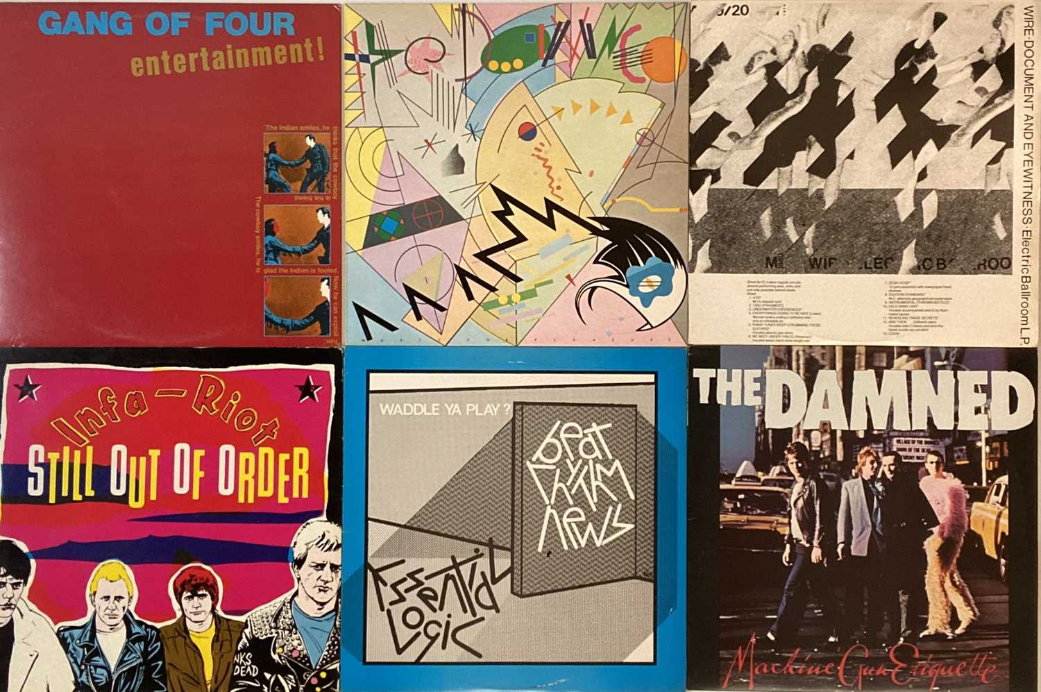CLASSIC PUNK & NEW WAVE - LPs.