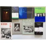 JOY DIVISION / NEW ORDER COLLECTABLE BOOKS AND VHS.